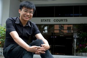Law student Shaun Lim volunteers at the State Courts, helping train his juniors and building a programme where law students help the public understand legal processes.