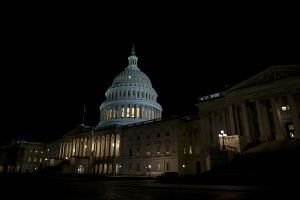 Funding for federal agencies ran out at midnight on Jan 19 in Washington after lawmakers failed to agree on a stopgap funding bill.
