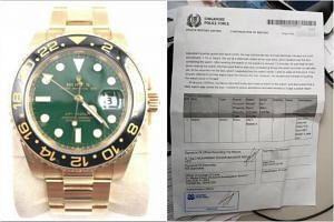 The $35,000 Rolex watch was swopped with a fake one during a meeting between the buyer and the seller.