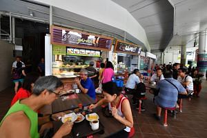 Pasir Ris Central Hawker Centre, which officially opened on Thursday (Jan 25), has 770 seats with 42 stalls on two floors and overlooks Pasir Ris Park.