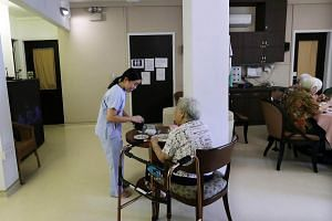 At St Bernadette Lifestyle Village, which provides a 24-hour medical concierge and meals, its eight residents get help to live independently.