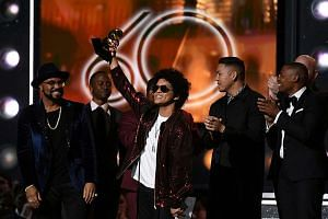 Bruno Mars scored for R&B performance and song for That's What I Like and best R&B album for 24K Magic. The album also was named best engineered album, which recognises the work of sound engineers.