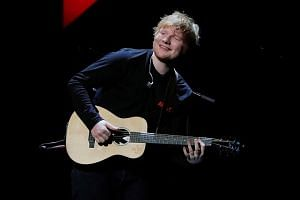 Ed Sheeran's Divide won over albums by other major chart-toppers including pop superstar Lady Gaga and rockers Coldplay.
