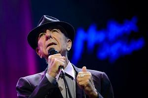 Canadian poet and singer Leonard Cohen won for Best Rock Performance in a field that included another late artist, Chris Cornell.