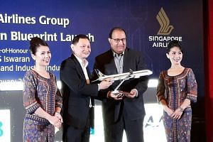 """Speaking at the launch, Mr S. Iswaran, Minister for Trade and Industry (Industry), said that """"digitalisation is transforming if not disrupting industries, and catalysing new growth areas"""", including in the aviation and aerospace industries."""