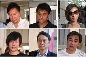 The Court of Appeal will be handing down its verdict on the City Harvest Church case, involving (clockwise, from top left) Kong Hee, Tan Ye Peng, Serina Wee, John Lam, Chew Eng Han and Sharon Tan.