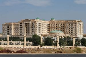 The Ritz-Carlton Hotel in Riyadh, Saudi Arabia, where some of the kingdom's richest and most powerful men were locked up and pressed by the authorities to hand over assets said to have been stolen from the state.