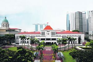 Singapore's Parliament House. Founding Prime Minister Lee Kuan Yew once described the trust between government and people as the greatest asset.