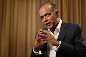 """Minister for Home Affairs and Law K. Shanmugam said in a Facebook post that the City Harvest Church Court of Appeal ruling was a """"serious matter"""", and that he would be making a ministerial statement on it in Parliament."""