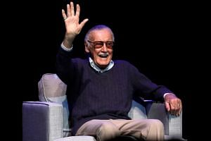 """Stan Lee had been admitted with """"shortness of breath"""" and """"an irregular heartbeat"""" on Jan 31, 2018."""