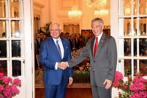 Malaysian Prime Minister Najib Razak said his government believes in good relations with Singapore.