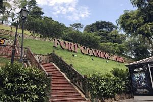 Fort Canning Hill has undergone multiple phases of development and many changes of use throughout history.