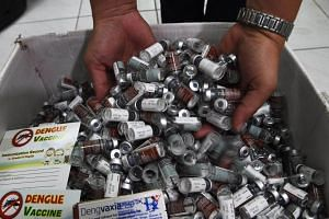 Sanofi last month agreed to reimburse the Philippine government 1.6 billion pesos for leftover doses of Dengvaxia but it later said it would not pay for doses that were already used.