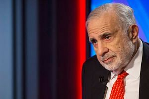 Icahn (above, in 2014) has been raising red flags on the stock-market's meteoric rise.