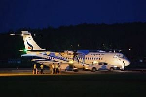 Bangkok Airways signed a deal to buy four ATR 72-600s (pictured) at the Singapore Airshow on Feb 7, 2018.