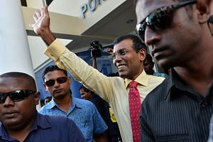 Mohamed Nasheed (pictured) made history in 2008 when he defeated Maumoon Abdul Gayoom - then Asia's longest-serving leader - after three decades of unchallenged rule.