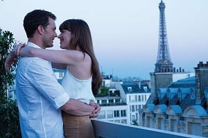 Fifty Shades Freed is directed by James Foley (above) and stars Jamie Dornan and Dakota Johnson (both top).