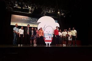 President Halimah Yacob launched this year's President's Challenge at Downtown East on Sunday, along with a $10 million fund to help low-income individuals improve their employability.