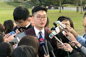 Pro-independence activist Andy Chan had signed a declaration saying he would uphold Hong Kong's Basic Law when he applied to run for office in 2016.