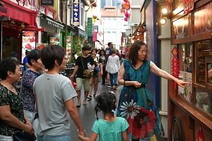 The growth of Chinese tourism comes on the back of the Singapore Tourism Board's marketing push to sell Singapore in other parts of China and not just major cities like Beijing and Shanghai.