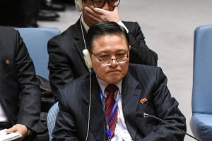 North Korean Ambassador Ja Song Nam met with the UN head of management on Feb 9 to discuss the money owed to the world body.