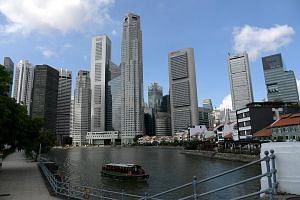 The Singapore economy, which grew 2.4 per cent in 2016, picked up pace in 2017 on the back of surging global demand for electronic gadgets.