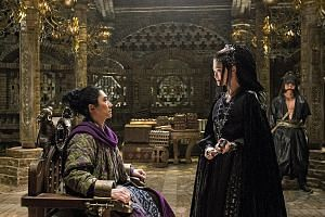 Tony Leung Chiu Wai and Li Yuchun (both above) delivered some of the funniest scenes in Monster Hunt 2.