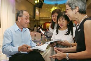 Workers' Party chief Low Thia Khiang declined to comment on whether he has a preferred successor.