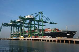 PSA's Bharat Mumbai Container Terminals welcomed its second regular shipping service on Feb 12, 2018.