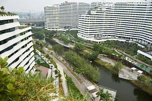 Waterway Terraces in Punggol, a Housing Board project. Statutory boards and government-owned companies are already using bonds to finance infrastructure projects - for example, the Housing Board has issued bonds to finance public housing. This spread