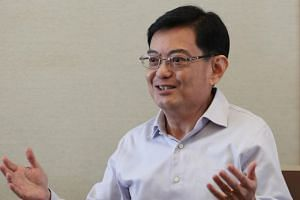 Finance Minister Heng Swee Keat in an interview with The Straits Times on Feb 20, 2018, a day after he delivered the Budget speech.