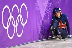 Elise Christie was disqualified from the 1,000m women's short track heats on Feb 20, 2018.