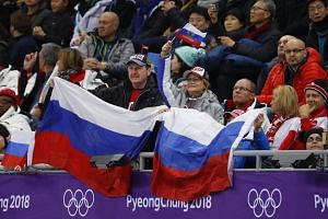 """Russia was formally banned in December 2017 from taking part in the 2018 Winter Olympics, but 168 athletes deemed """"clean"""" were allowed to compete as neutrals."""