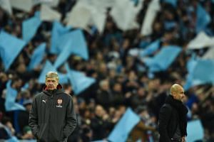 Arsenal manager Arsene Wenger is under increasing pressure after his team's abject display in Sunday's (Feb 25) 3-0 League Cup defeat against Manchester City - their sixth loss in 12 games this year.