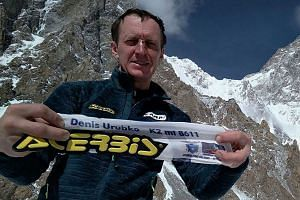 Denis Urubko launched the first solo attempt to summit Pakistan's K2 during winter.