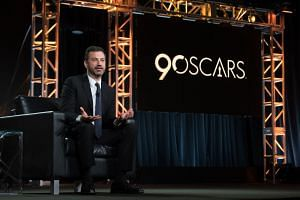 American talk-show host Jimmy Kimmel will host the Oscars this year.