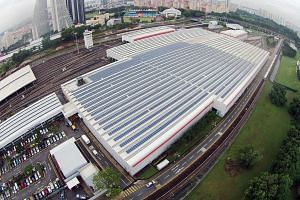 Microsoft yesterday said it will buy 100 per cent of the electricity generated from Sunseap's 60 megawatt-peak solar power project for 20 years for its Singapore data operations. Sunseap has solar panels on hundreds of rooftops across Singapore.