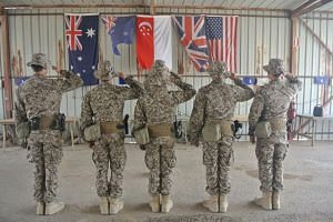 The SAF Counter-Terrorism Training Unit will be deployed to Iraq to partner the Australian Defence Force to train the Iraqi Security Forces in tactical-level weapons and combat tactics.