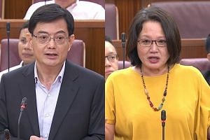 Finance Minister Heng Swee Keat has asked Workers' Party chairman Sylvia Lim if she would withdraw her allegation that the Government deferred the goods and services tax (GST) hike because it was trapped by earlier statements it made about having eno