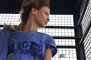 Model and blogger Anastasia Vashukevich, who also goes by the name Nastya Rybka, was arrested in Pattaya along with nine others for helping to conduct a sex workshop.
