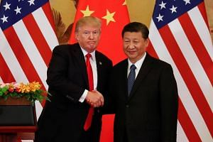 """US President Donald Trump praised Chinese President Xi Jinping as """"a great gentleman""""."""