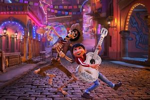 Coco, the colourful adventure into the land of the dead from Walt Disney Co's Pixar Animation Studios, won best animated feature film.