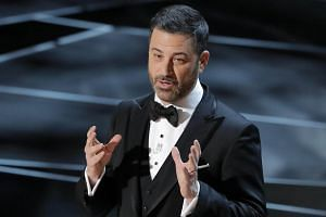 Jimmy Kimmel opens the Oscars 2018 on March 5, 2018.