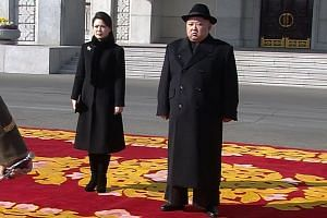 Although  North Korean leader Kim Jong Un's wife, Ri Sol Ju, has appeared in North Korean media at domestic events, she has rarely been seen attending diplomatic events.