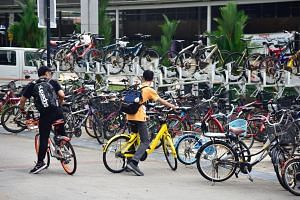 During the debate on the Transport Ministry's budget, MPs from both sides of the House highlighted the indiscriminate parking of shared bikes.