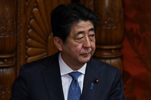 Japanese Prime Minister Shinzo Abe's popularity was dented after it was suspected that a school operator with ties to his wife got a deal on land for a school in Osaka.