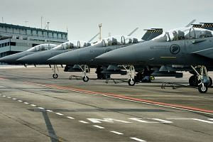 In August last year, ST reported that Singapore had asked the New Zealand government about accommodating F-15SG fighter jet training at Ohakea in the long-term.