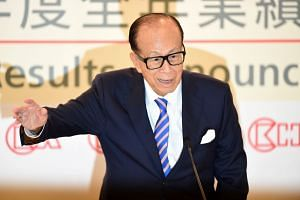 """Li Ka Shing was called """"Superman"""" in Hong Kong for his work ethic and business success."""
