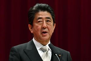 The affair is hitting Japan's PM Shinzo Abe's ratings hard, with a new poll showing public support nose-diving by 13 percentage points from the previous month.