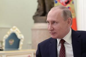 Russian President Vladimir Putin said Russia wanted constructive dialogue with its international partners.